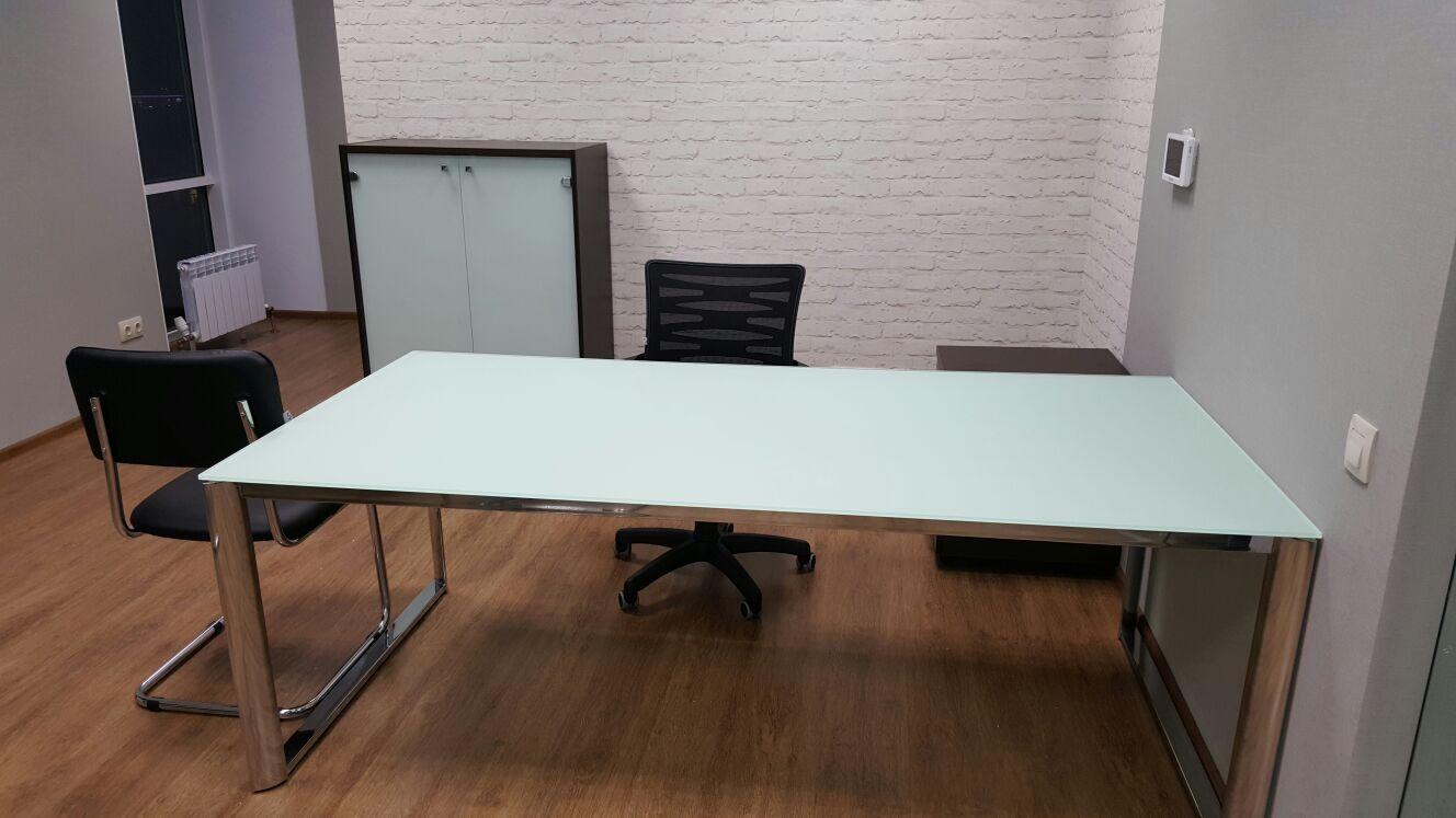 "серия мебели ""Carri"" стекло/металл"